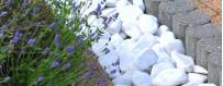 Ciottoli, pietre, granulati, sassi, graniglia da giardino - Edilbloc