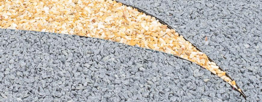 Granulati, pietre, ciottoli, sassi, graniglia da giardino - Edilbloc
