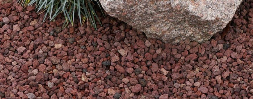 Lapillo vulcanico per giardino - Edilbloc