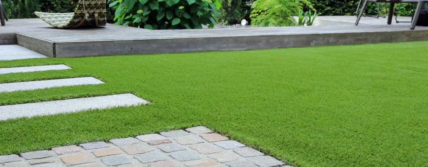 Erba sintetica per giardini e terrazzi - Edilbloc